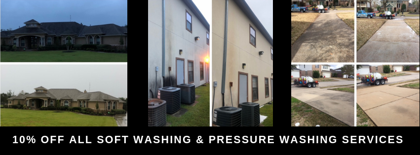 We Offer Exterior Cleaning Services Too!
